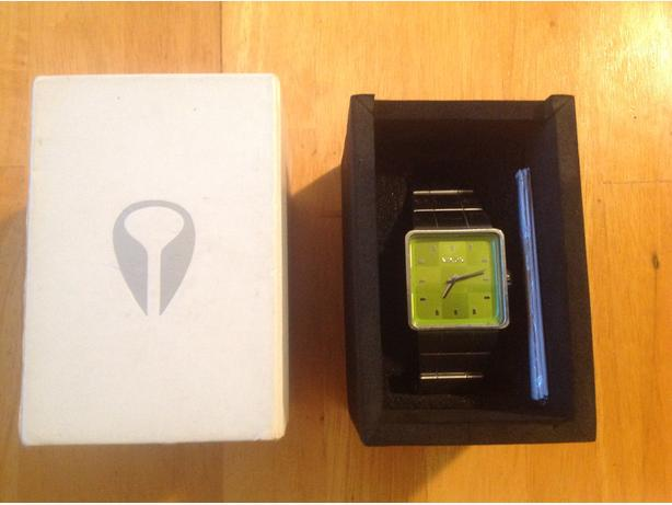 Men's Nixon silver watch