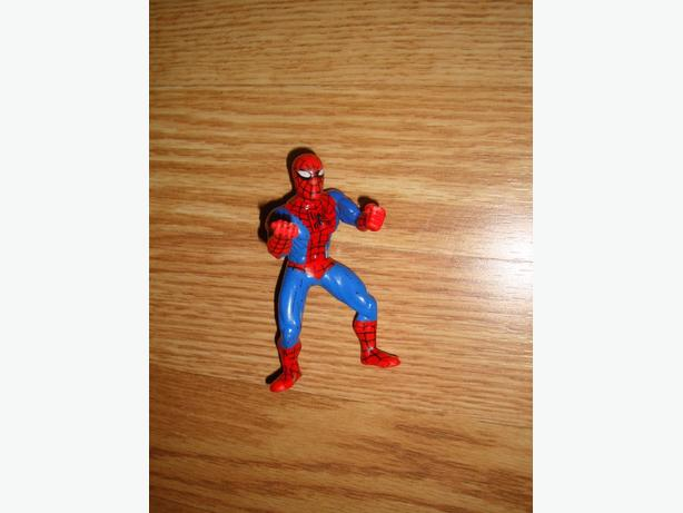 Like New Toy Spiderman Figure - $3