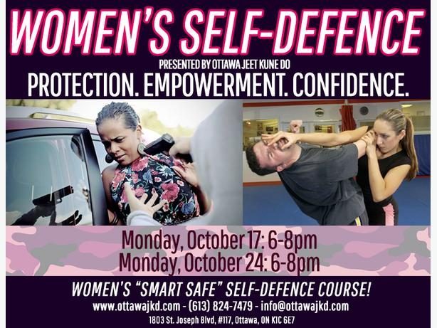 "Women's ""SmartSafe"" Self-Protection Seminar"