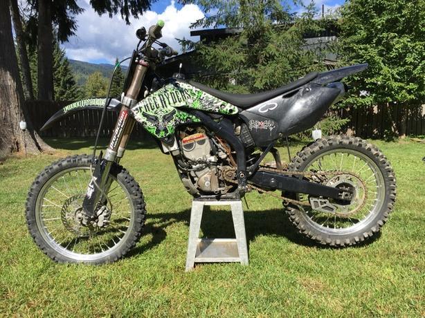 2005 kx250f (290cc) $1500 obo