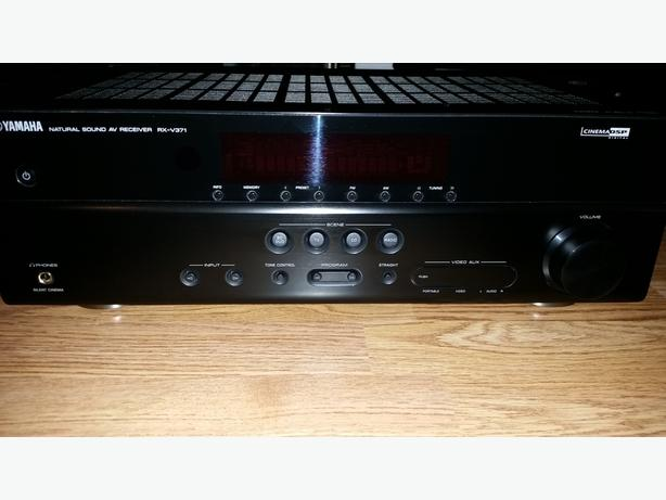 Yamaha 5.1 Surround Sound Audio/Video Receiver (RX-V371)