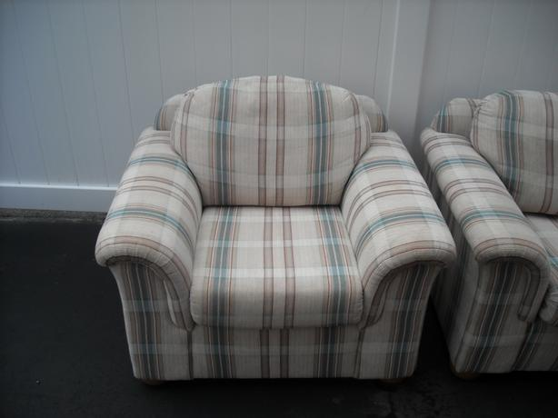 Contemporary sofa and chair very good condition $550 or best offer