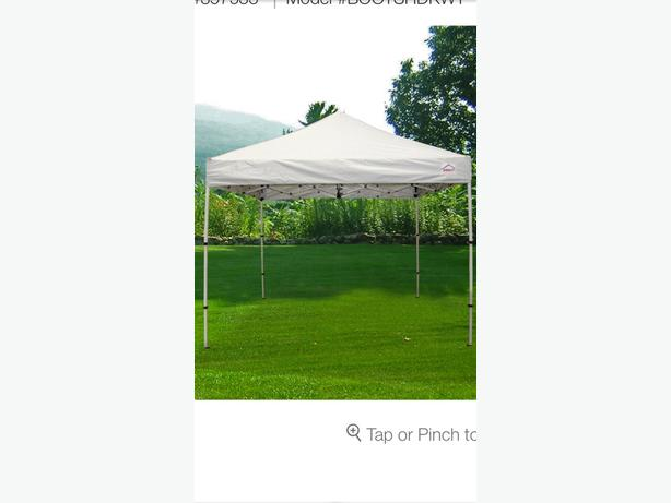 WANTED: ISO 10x10 easy up shade tent