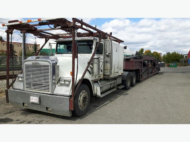 1997 FREIGHT LINER TRUCK & SUNVALLEY TRAILER - FRESH SAFETY!
