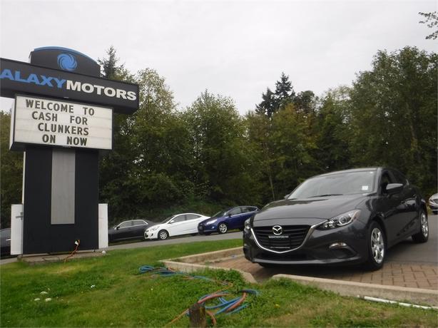 2015 Mazda Mazda3 GX - Bluetooth, Cruise Control, A/C