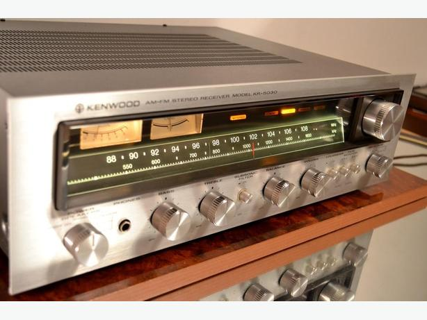 CLASSIC KENWOOD KR-5030 STEREO RECEIVER AMPLIFIER AMP  * MUSICAL ! *