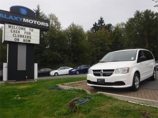 2012 Dodge Grand Caravan SE - Stow n Go, Satellite Radio, ECON