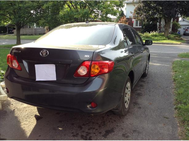 2010 Toyota Corolla Excellent condition