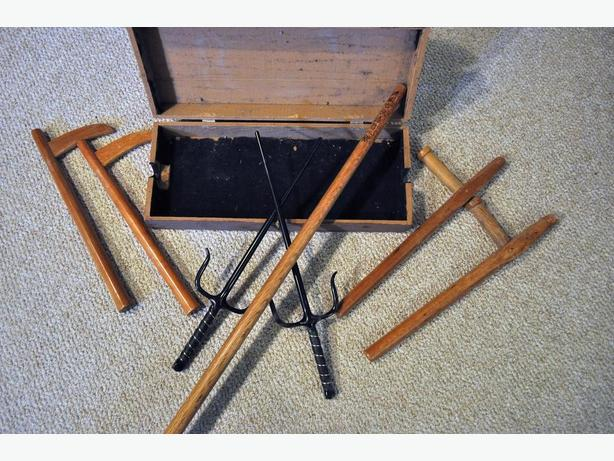Martail Arts Weapons - price reduced