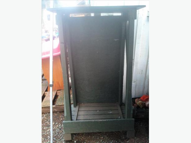 Tall Woodbox