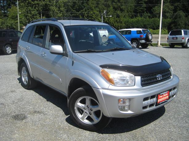 2001 Toyota Rav4 AWD - No Accidents! Nice Firestone Tires!