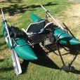 Bucks Bags South Fork 8' Pontoon Boat & Motor