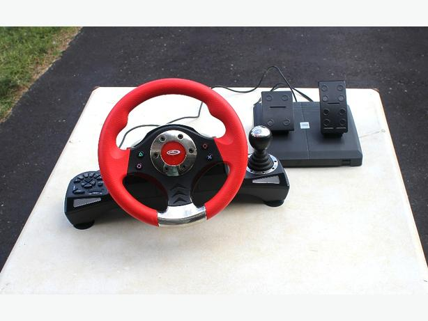 Intec Steering Wheel and Pedals