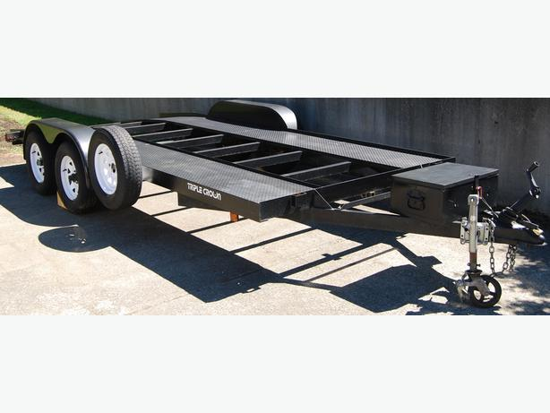 Triple Crown Light Car Hauler Trailer with 16 foot deck