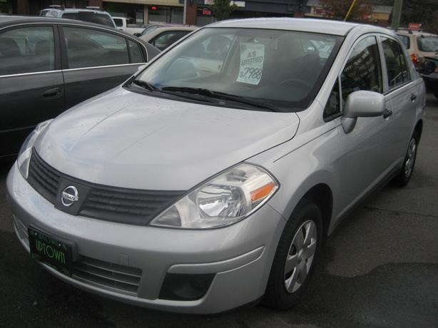 2009 Nissan Versa ONLY 81409Km's. 1-owner NO ACCIDENTS