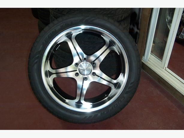 "GM 6 Bolt 22"" Tires & Wheels"