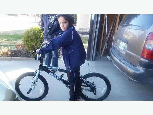 Missing Boys BMX Black Bike Chaos
