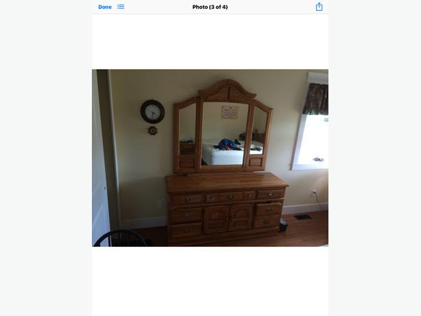 Dresser Mirror and matching end Table