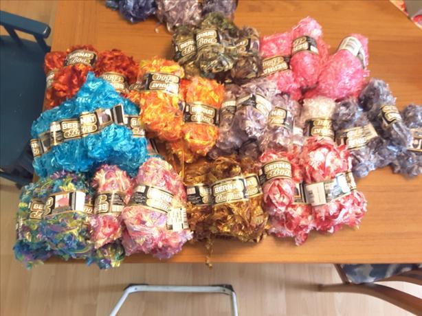 Bernat boa yarn