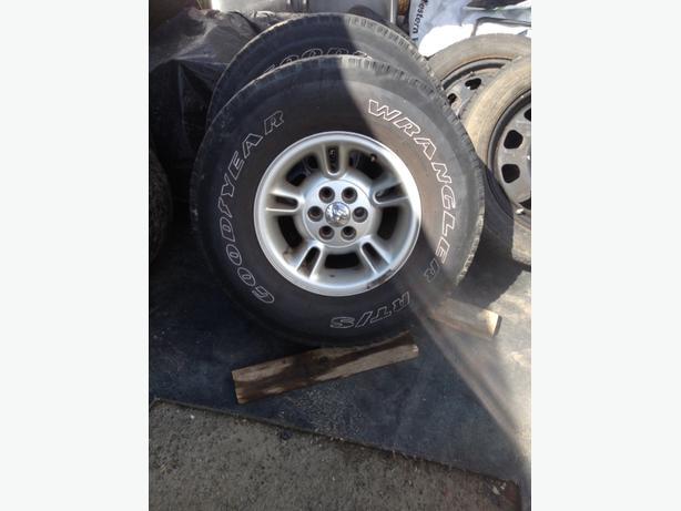 dodge dakota durango wheels