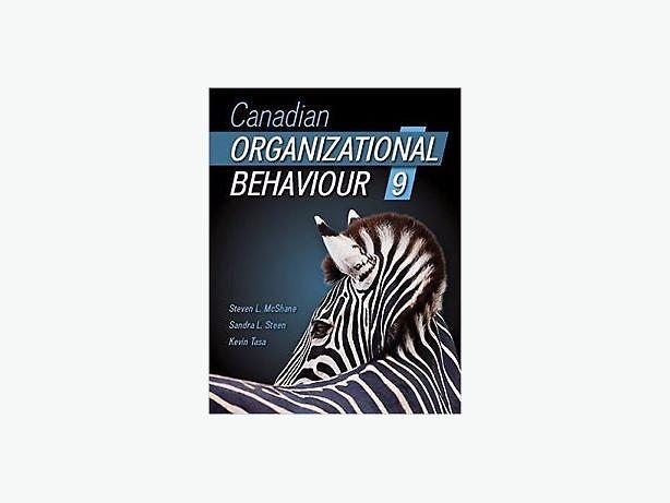 WANTED:  Canadian Organizational Behaviour 9th edition