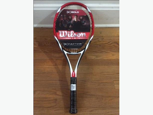 Brand New Wilson Tennis Racquet  w/Case