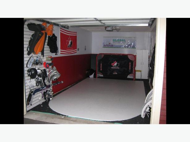 Artifical Ice for Goalie Training