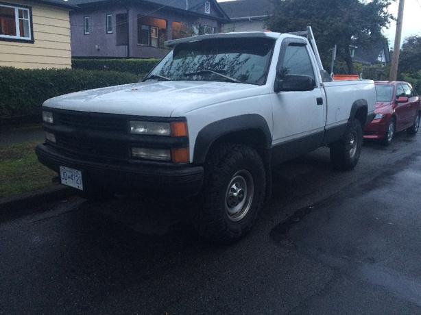 FOR TRADE: Chevrolet k2500