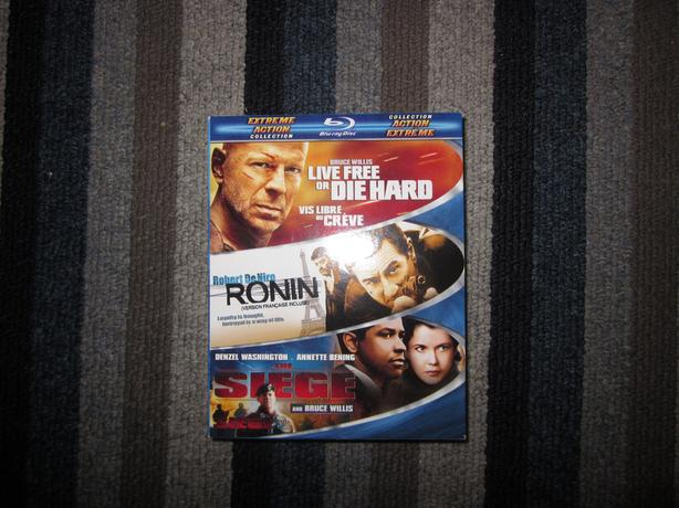 Action Collection Blu-ray (Live Free or Die Hard/Ronin/The Siege)