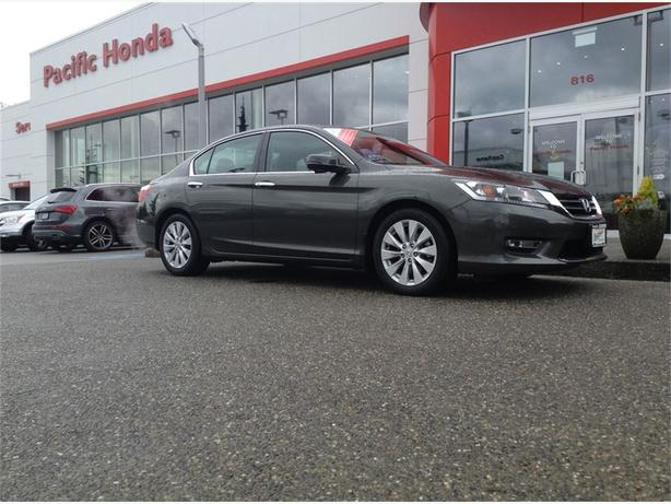 2013 Honda Accord Sedan EX-L Cert-LOCAL 1 OWNER TRADE