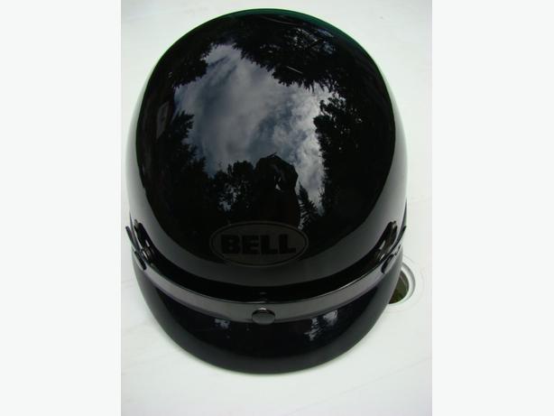 Black Bandito Half Helmet