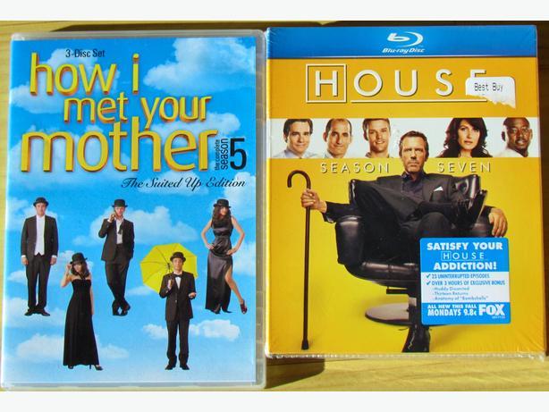 TV Series DVD's - House - Unopened &  How I Met Your Mother
