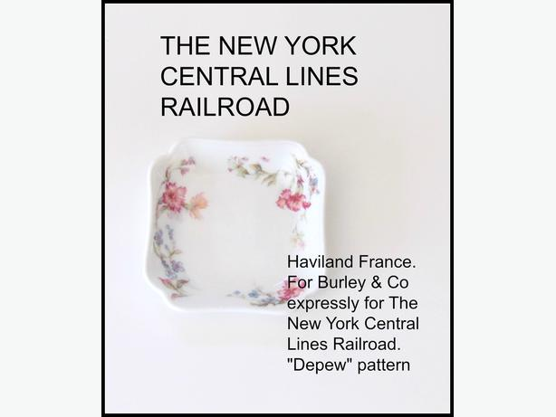 The New York Central Lines Railroad Vintage Butter Pat