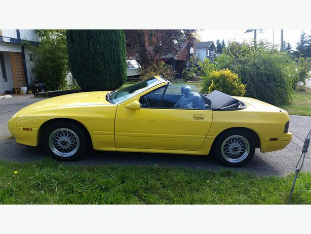 1988 Mazda RX7 Convertible 5-speed manual