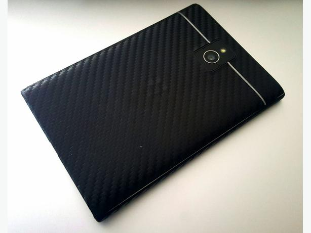 BlackBerry Passport with Black Carbon Fiber Skin