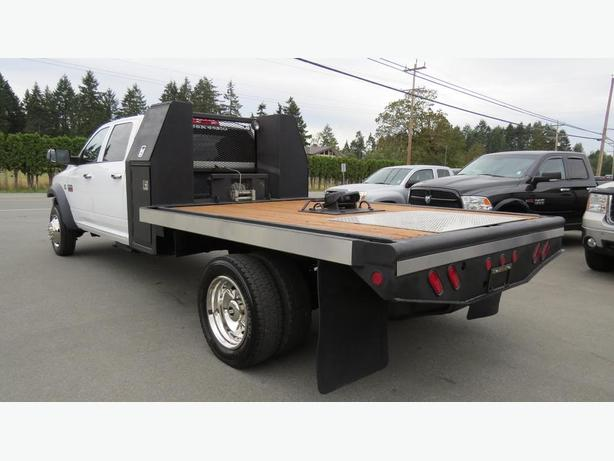 2012 Dodge Ram 5500hd Crew Cab Flat Deck 4x4 Outside