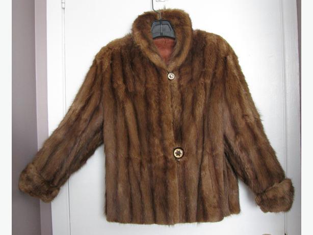 Vintage fur jacket (Muskrat)
