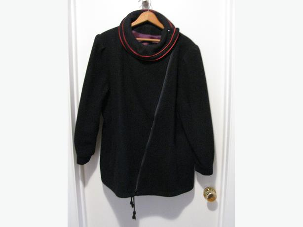 Navy wool jacket (size 20 1/2)