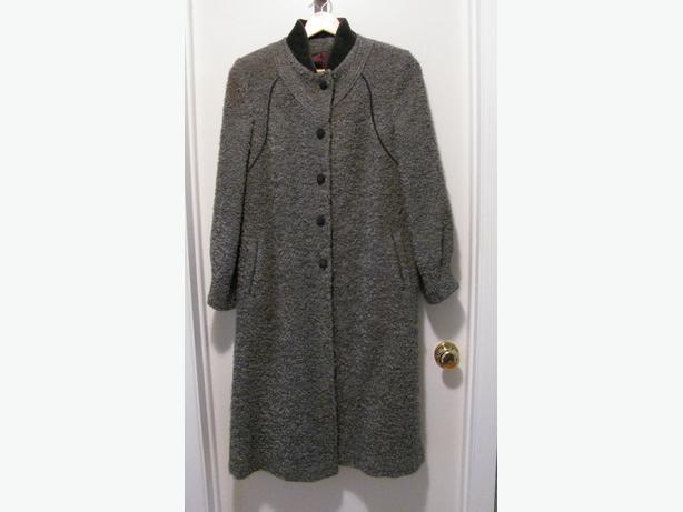 Boucle Wool/Mohair Coat
