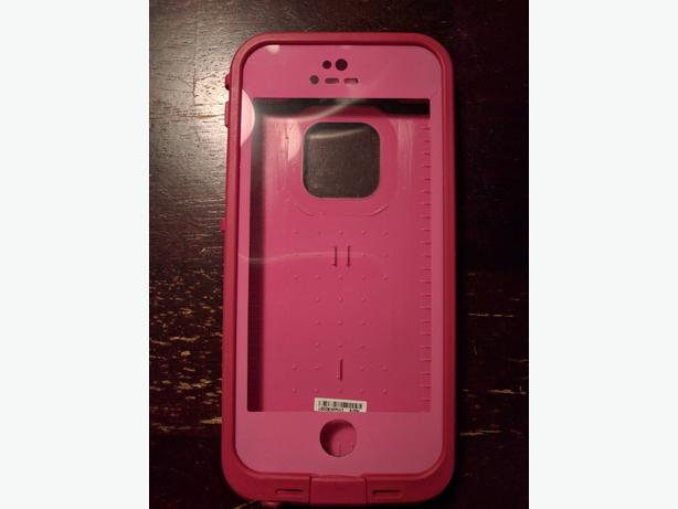 Pink iphone 5/5s/SE Lifeproof Fre Case