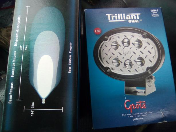 1200 lumen Trilliant Oval Flood Lights *NEW in box still