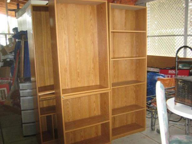 3 BOOKSHELVES  -  $25 EACH !