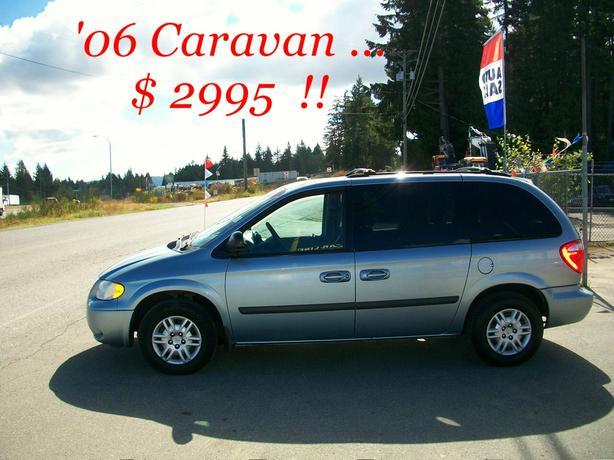 *** 2006  DODGE  CARAVAN  >>> $ 2995 !!  Only ....178,000 KMS ***