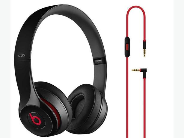 (Half-working) Beats by Dre Solo 2.0 On-Ear Wired Headphones