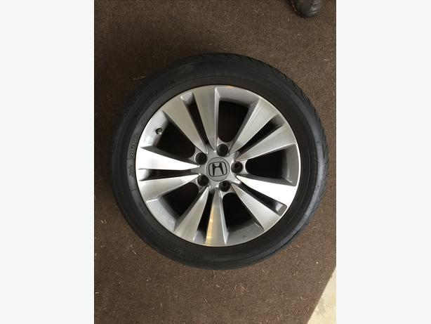 "Tires & 17"" Rims for Honda Accord"