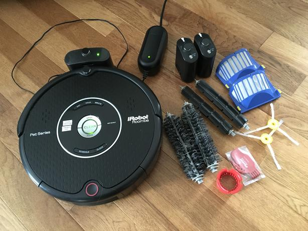 Vacuum Cleaning Robot iRobot Roomba 595 Pet Series