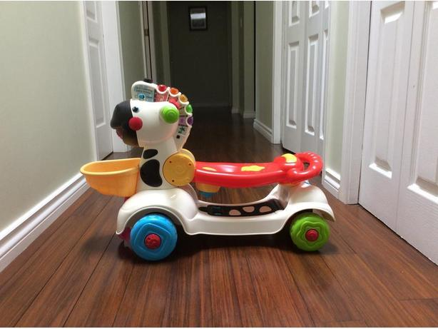 VTech-3-in-1 Learning Zebra Scooter