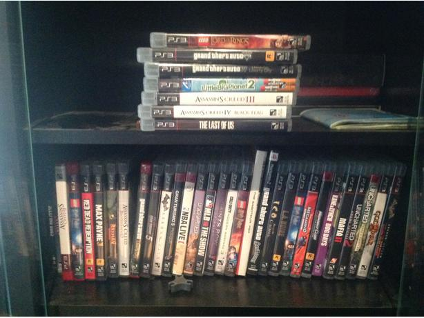PS3 and 38 games