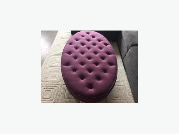 Purple ottoman - Excellent condition