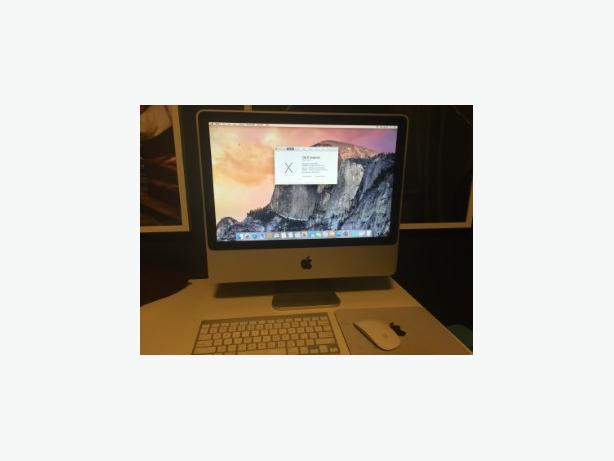 """20"""" iMac Aluminum Edition"""